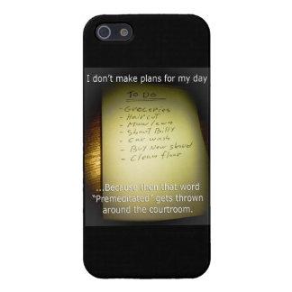 I Don't Make Plans Case For iPhone SE/5/5s