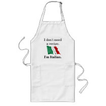 I don't need a recipe. long apron
