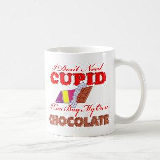 I Don't Need Cupid Coffee Mug