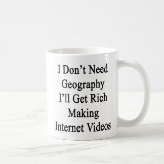I Don't Need Geography I'll Get Rich Making Intern Coffee Mug