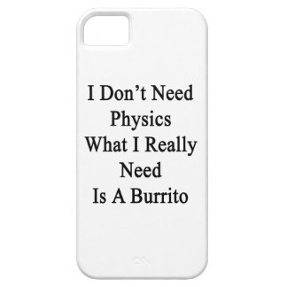 I Don't Need Physics What I Really Need Is A Burri iPhone 5 Covers