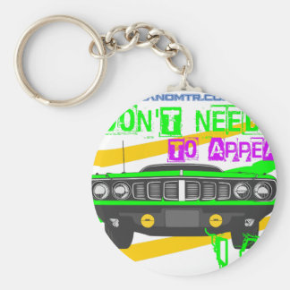 I don't need to appear, I am Keychain