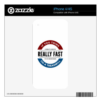 I Don't Run iPhone 4 Decals
