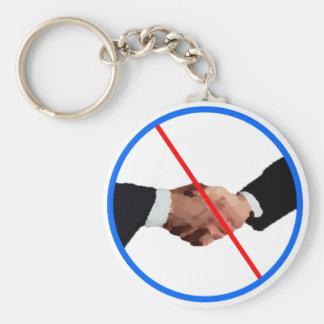 I Don't Shake Hands Keychain