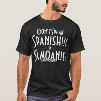Spanish t shirts shirt designs zazzle i don39t speak spanish t shirt sciox Image collections