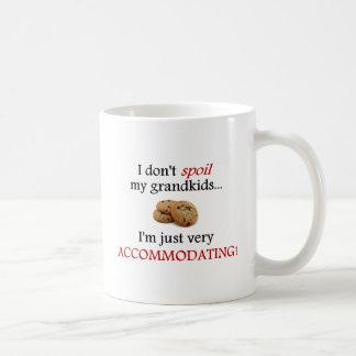 I Don't Spoil My Grandkids... Just Accommodating! Classic White Coffee Mug