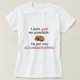 I Don't Spoil My Grandkids... Just Accommodating! T-Shirt