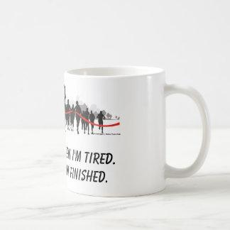 I don't stop when I'm tired runner mug