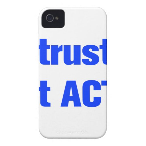 I-dont-trust-words-ak-blue.png iPhone 4 Carcasas