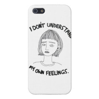I Dont Understand My Own Feelings Cover For iPhone SE/5/5s
