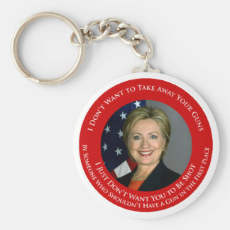 I Don't Want to Take Away Your Guns Keychain