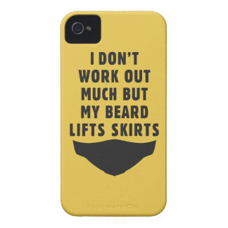I don't work out, but my beard lifts skirts iPhone 4 cover