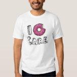 I Donut Care Bitten Pink Donut T-Shirt
