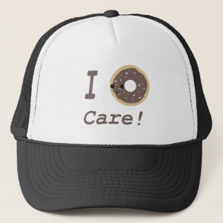 I Donut Care! chocolate Trucker Hat