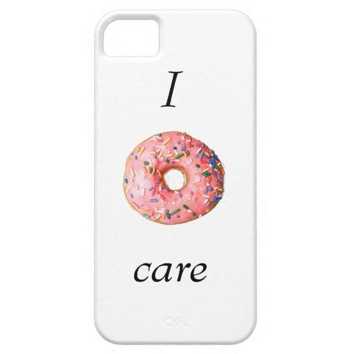 Case Design zazzle phone cases : donut care Iphone 5/5s Case : Zazzle