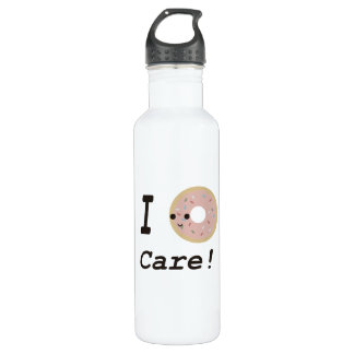 I donut care! stainless steel water bottle
