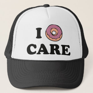 I Donut Care Trucker Hat