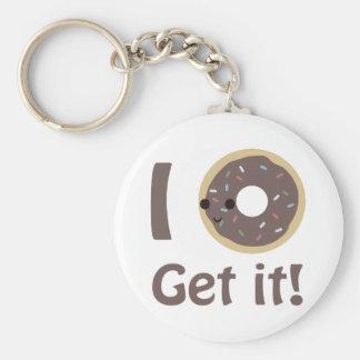 I donut get it key chain