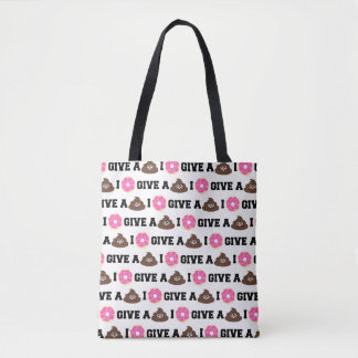 I Donut Give a Poo Totes Bag