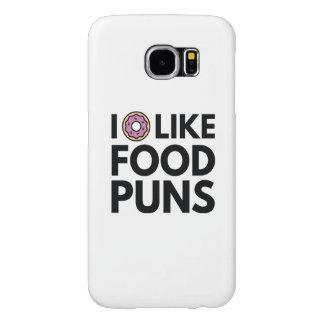 I Donut Like Food Puns Samsung Galaxy S6 Case