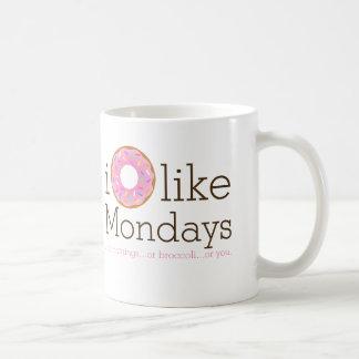 I Donut Like Mondays Mug