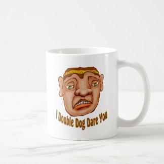 I Double Dog Dare You Classic White Coffee Mug