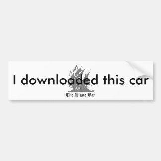 I downloaded this car bumper sticker