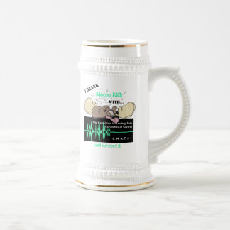 I drank moose milk...and survived it stein coffee mugs