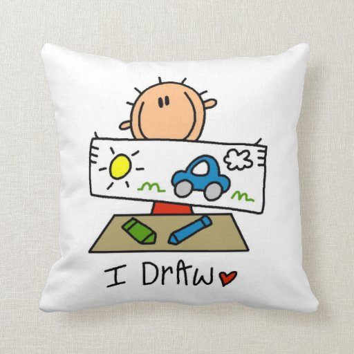 I Draw Pillow