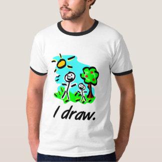 I Draw Stick Figure T-Shirt