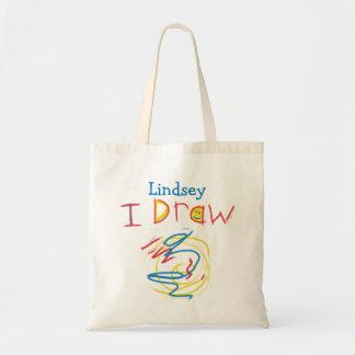 I Draw Tote Bag