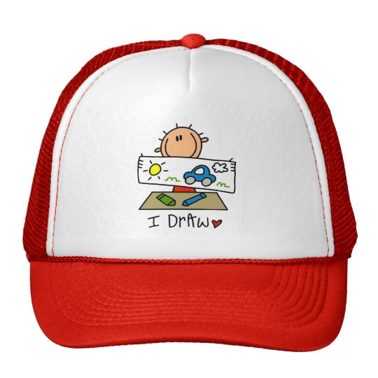 I Draw Tshirts and Gifts Trucker Hat