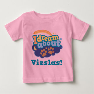I Dream About Vizslas Dog Breed Gift Shirt
