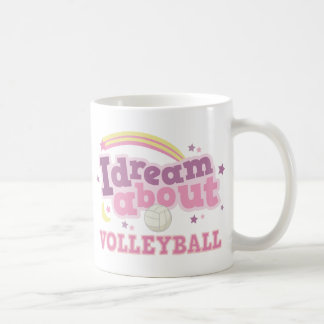 I Dream About Volleyball Gift Coffee Mug