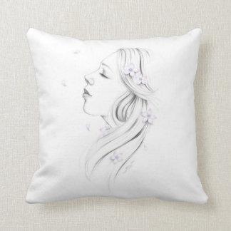 I Dream Flower Girl Pillow