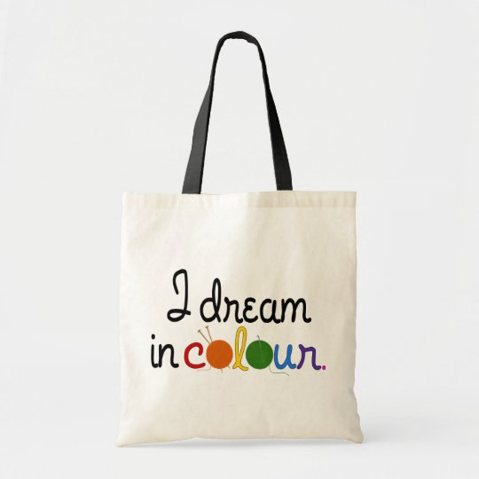 I Dream in Colour tote - for lights