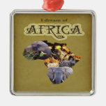 I Dream of Africa Map Ornament