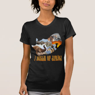 I Dream of Africa wildlife collage 5 T Shirts
