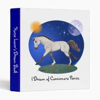 I Dream of Connemara Ponies Spiral Binder