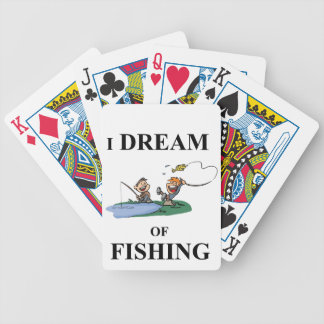 I Dream Of Fishing Bicycle Playing Cards