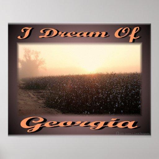 I Dream Of Georgia Print