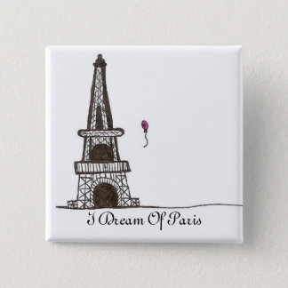 I Dream Of Paris, 2 Pinback Button