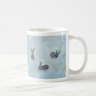 I Dream of Rabbits fun unique modern art painting Mugs