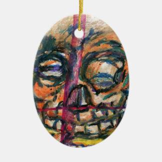 I Dream of Yellow Death Ceramic Ornament