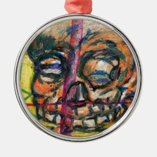 I Dream of Yellow Death Metal Ornament