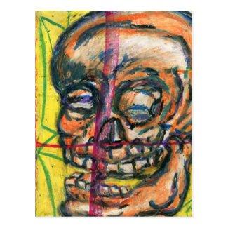 I Dream of Yellow Death Postcard