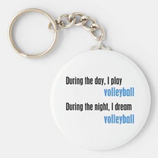 I Dream Volleyball Keychain
