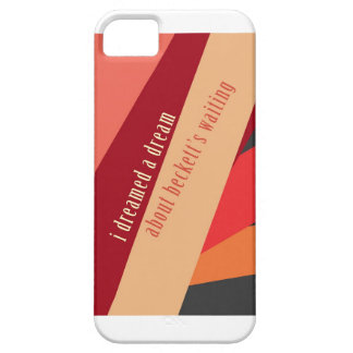 """""""I Dreamed A Dream About Beckett's Waiting"""" iPhone SE/5/5s Case"""