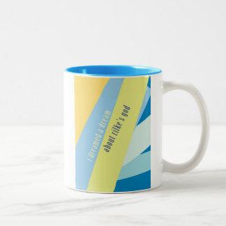 """""""I Dreamed A Dream About Rilke's God"""" Coffee Mug"""