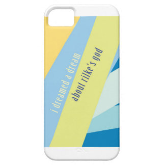 """""""I Dreamed A Dream About Rilke's God"""" iPhone SE/5/5s Case"""